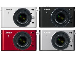 新世代プレミアムカメラ Nikon1 J1